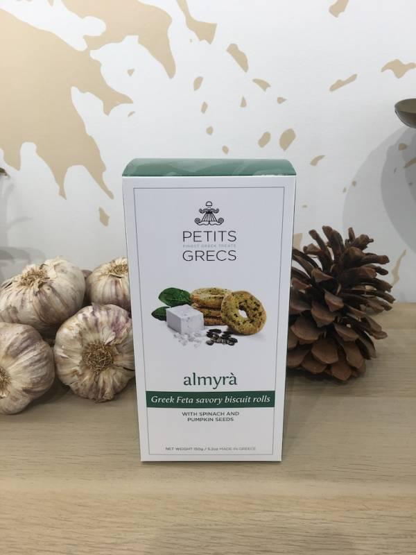 Βiscuit Salé Epinards 150 G Petits Grecs Boite 2 Ef Zin Www.ef Zin.fr Alimentation Spécialités Grecque