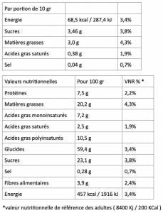 Biscuits Caroube 220 G Xilofournos Maladakis Boite Fr