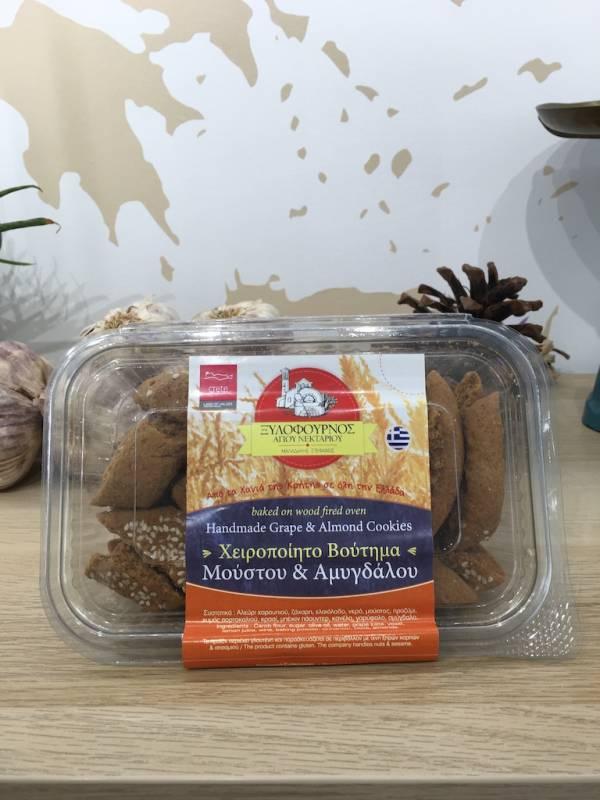 Biscuits Moût Des Raisins & Amandes 220 G Xilofournos Boite 1 Ef Zin Www.ef Zin.fr Alimentation Spécialités Grecque