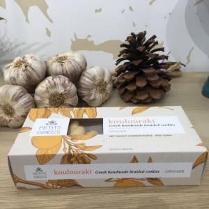 Biscuits Orange 160 G Petits Grecs Boite 3 Ef Zin Www.ef Zin.fr Alimentation Spécialités Grecque