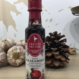 Crème Balsamique Grenade & Aronia 200 Ml Evercrete Bouteille 1 Ef Zin Www.ef Zin.fr Alimentation Spécialités Grecque