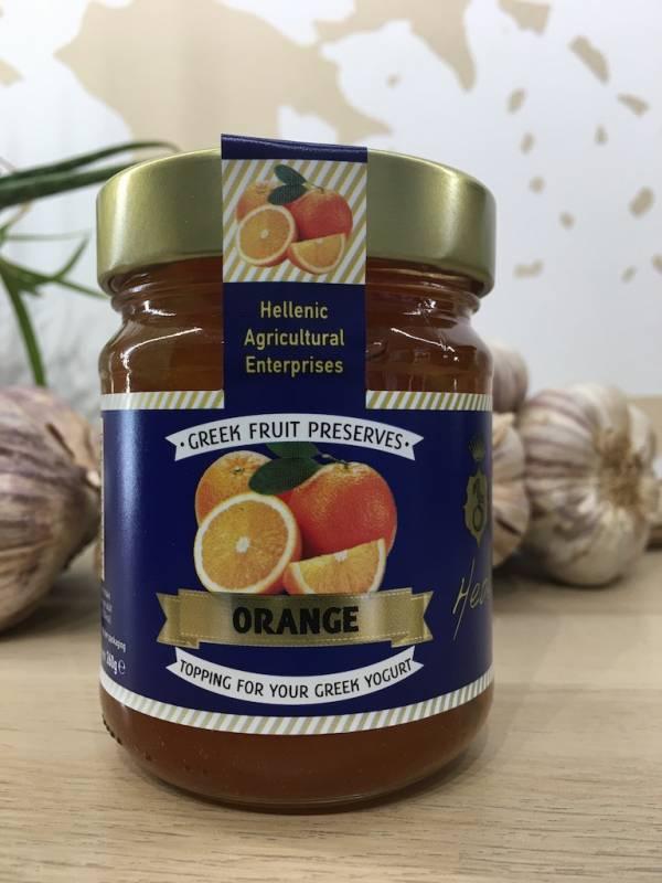 Garniture Sucré Orange 260 G Acaia Bocale A Ef Zin Www.ef Zin.fr Alimentation Spécialités Grecque