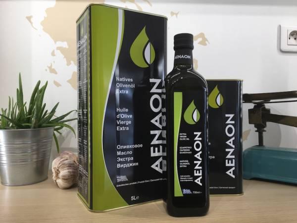 Huile D'olive Extra Vierge Aenaon2 Ef Zin Www.ef Zin.fr Alimentation Spécialités Grecque