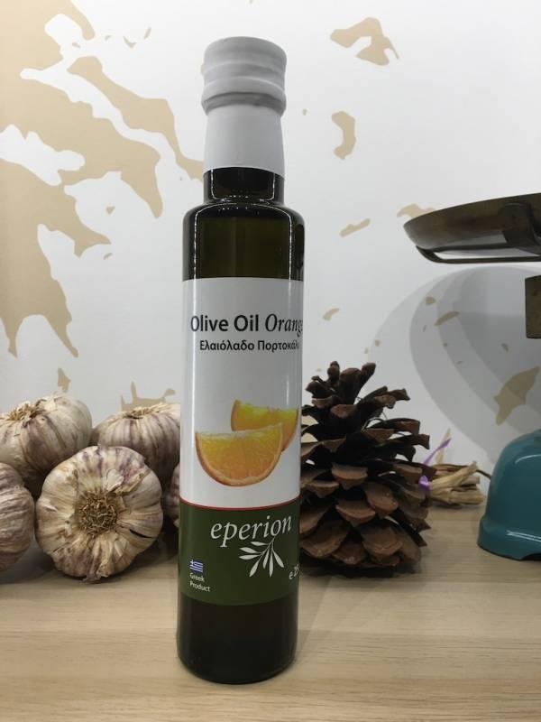 Huile D'olive Infusée Orange 250 Ml Eperion Dorica 1 Ef Zin Www.ef Zin.fr Alimentation Spécialités Grecque