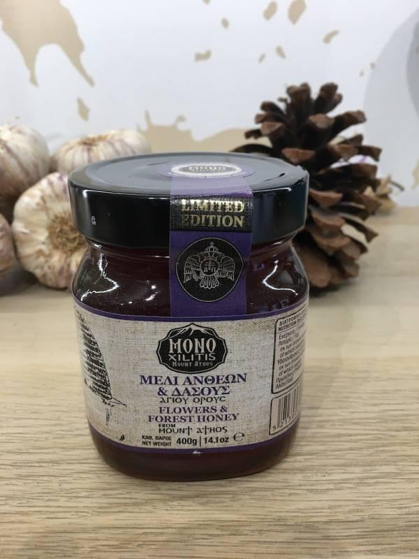 Miel Fleurs & Forêt 400 G Monoxilitis Bocale 2 Ef Zin Www.ef Zin.fr Alimentation Spécialités Grecque