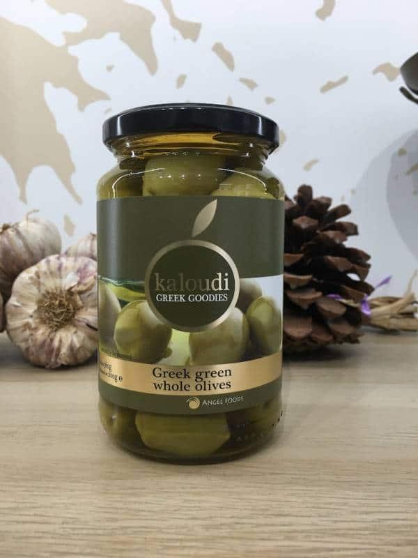 Olives Verte 360 g KALOUDI Bocale