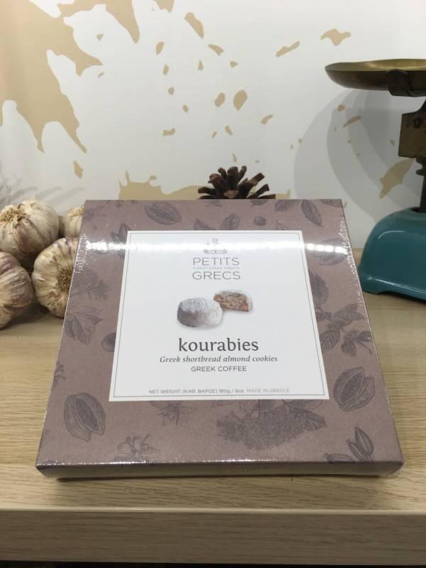 Plaisir Sucré Café Kourabies 180 G Petits Grecs Boite 2 Ef Zin Www.ef Zin.fr Alimentation Spécialités Grecque