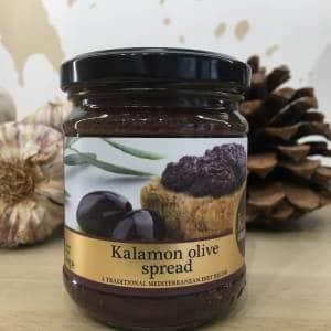 Tapenade Olives Noir 180 g KALOUDI