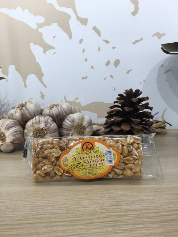 Barre De Sésame Cacahuètes 70 G Kosmidis Sachet 1 Ef Zin Www.ef Zin.fr Alimentation Spécialités Grecque