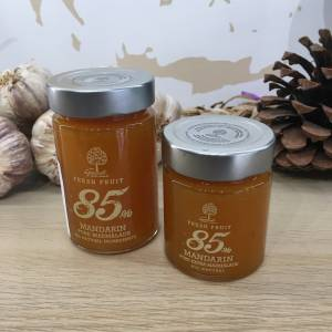 Confiture Mandarine Geodi Bocale2 Ef Zin Www.ef Zin.fr Alimentation Spécialités Grecque