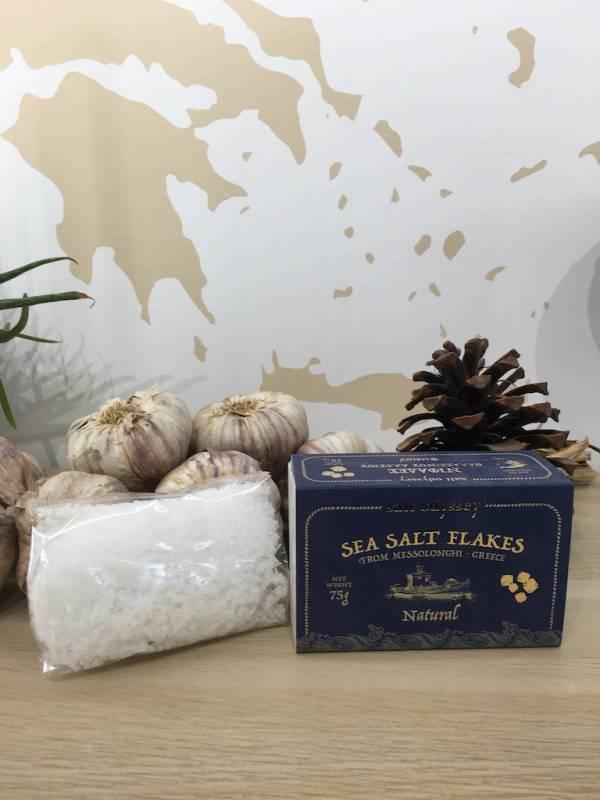 Fleur De Sel 75 G Salt Odyssey Boite 3 Ef Zin Www.ef Zin.fr Alimentation Spécialités Grecque