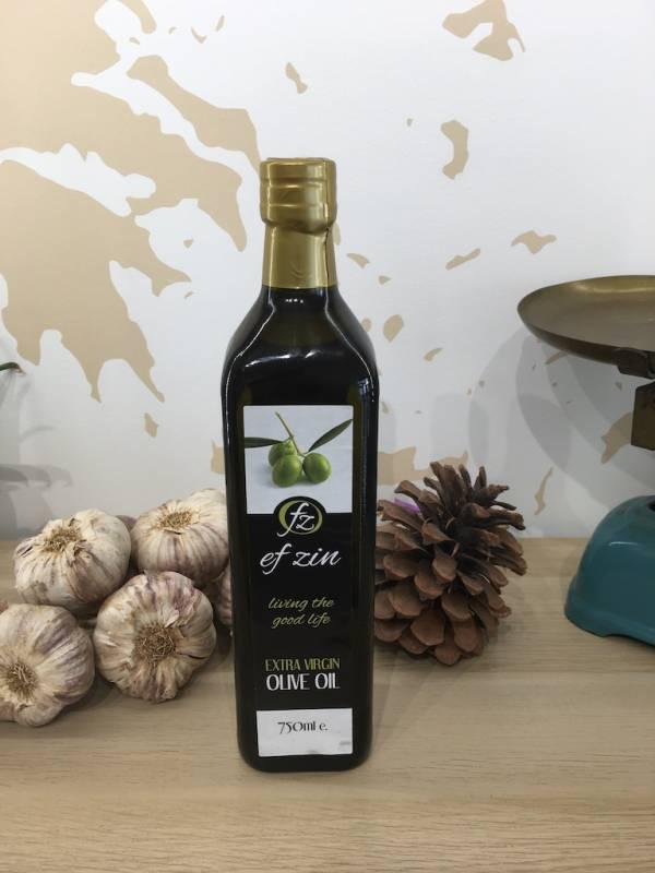 Huile D'olive Extra Vierge 750 Ml Ef Zin Gr Marasca 2 Ef Zin Www.ef Zin.fr Alimentation Spécialités Grecque