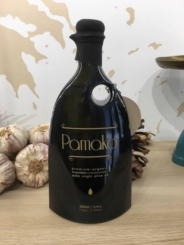 Huile D'olive Extra Vierge Mono Varietal Bio 500 Ml Pamako Bouteille 3 Ef Zin Www.ef Zin.fr Alimentation Spécialités Grecque
