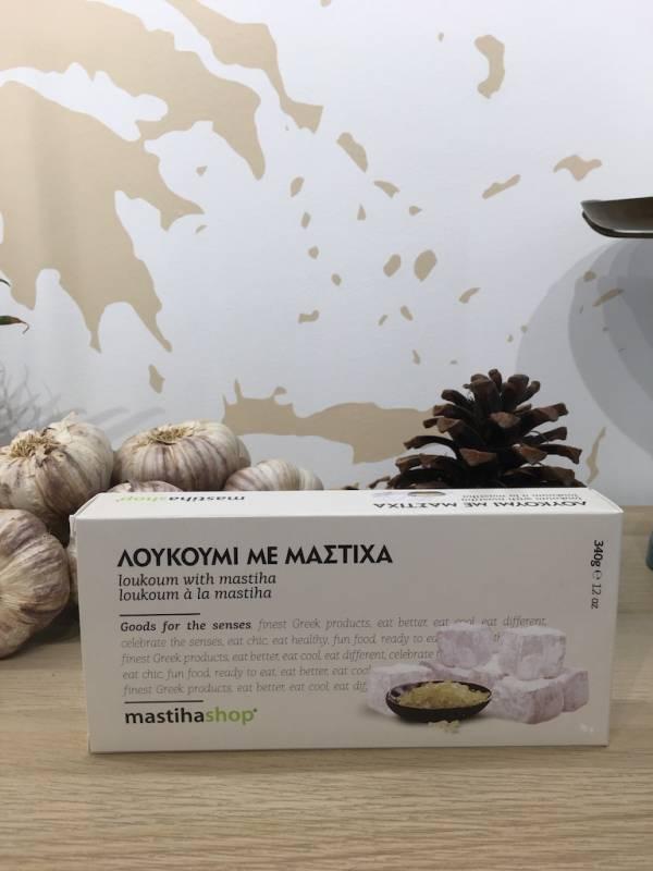 Loukoumi Mastiha 340 G Mastihashop Boite 1 Ef Zin Www.ef Zin.fr Alimentation Spécialités Grecque