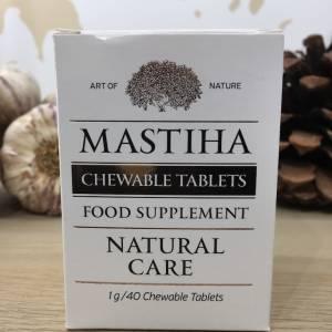 Masticha Chios 40 Comprimé à Croquer, 40 G Mastihashop Boite 1 Ef Zin Www.ef Zin.fr Alimentation Spécialités Grecque