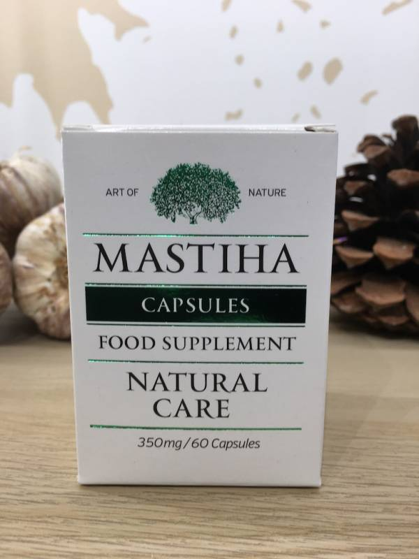 Masticha Chios Capsules 80% 60 Comprimés 26,5 G Mastihashop 1 Ef Zin Www.ef Zin.fr Alimentation Spécialités Grecque