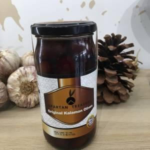 Olives Kalamata Giant Noir 200 G Spartan Treasure Bocale 2 Ef Zin Www.ef Zin.fr Alimentation Spécialités Grecque