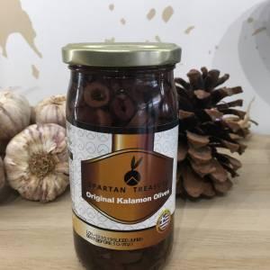 Olives Kalamata Jumbo Noir Découpé 180 G Spartan Treasure Bocale 2 Ef Zin Www.ef Zin.fr Alimentation Spécialités Grecque