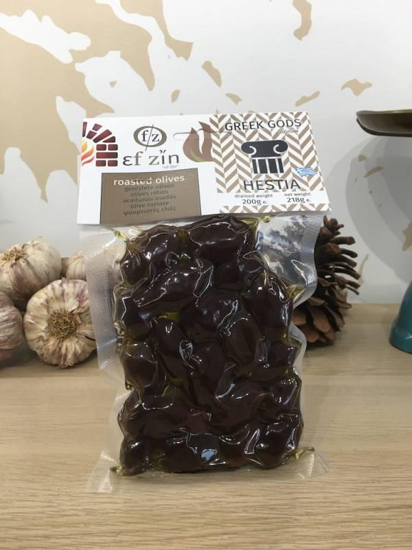 Olives Noir Grillés 200 G Ef Zin Gr Bocale 1 Ef Zin Www.ef Zin.fr Alimentation Spécialités Grecque
