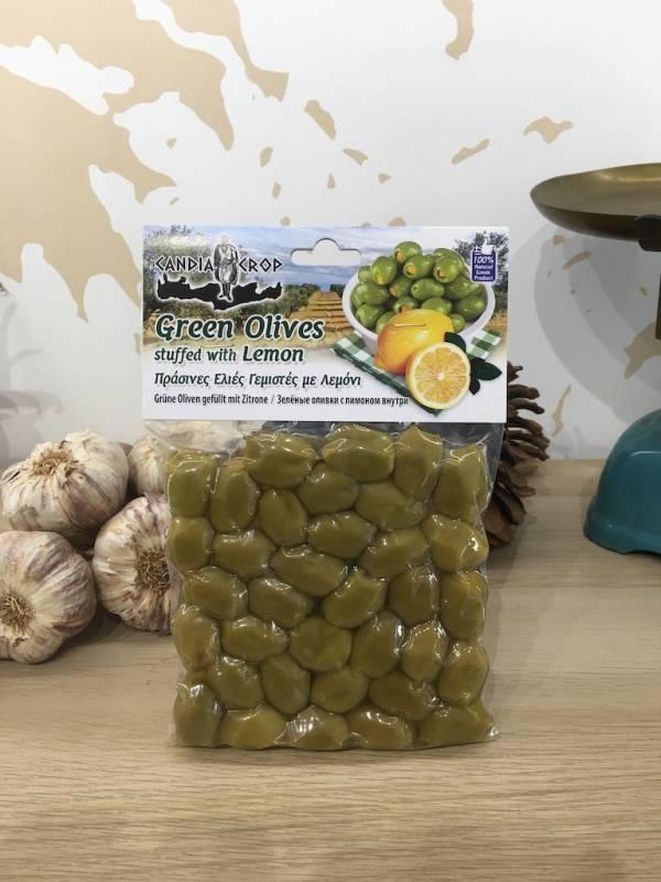 Olives Verte Farcies Au Citron 200 G Candia Crop Vacuum 2 Ef Zin Www.ef Zin.fr Alimentation Spécialités Grecque