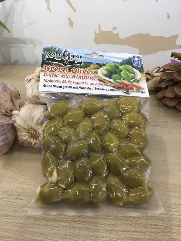 Olives Verte Farcies Aux Amandes 200 G Candia Crop Vacuum 2 Ef Zin Www.ef Zin.fr Alimentation Spécialités Grecque
