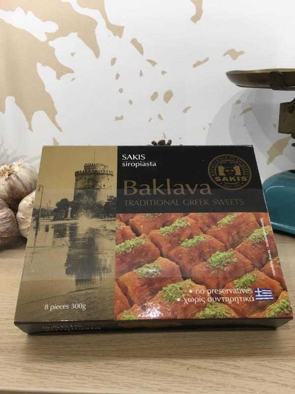 Plaisir Sucré Baklava Delight 300 G Sakis Boite 2 Ef Zin Www.ef Zin.fr Alimentation Spécialités Grecque