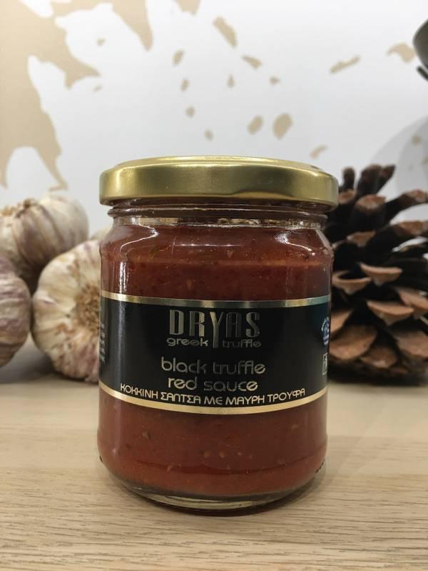 Sauce Tomate Truffe Noir 180 G Dryas Bocale 1 Ef Zin Www.ef Zin.fr Alimentation Spécialités Grecque