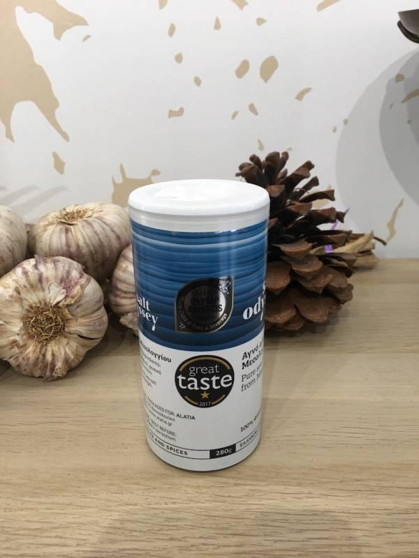 Sel Fin 280 G Salt Odyssey Flacon 2 Ef Zin Www.ef Zin.fr Alimentation Spécialités Grecque