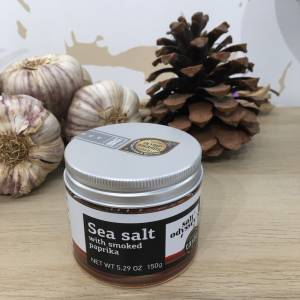 Sel Fin Paprika Fumé 150 G Salt Odyssey Boite 2 Ef Zin Www.ef Zin.fr Alimentation Spécialités Grecque