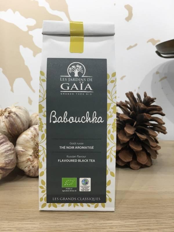 Thé Babouchka Gout Russe Noir Bio 100 G GaÏa Sachet 1 Ef Zin Www.ef Zin.fr