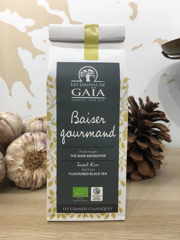 Thé Baiser Gourmand Bio 100 G GaÏa Sachet 1 Ef Zin Www.ef Zin.fr