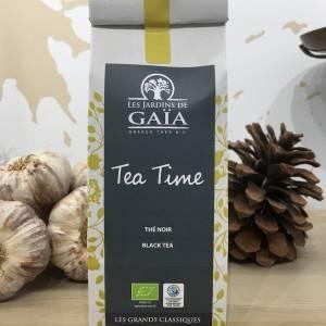 Thé Tea Time Noir Bio 100 G GaÏa Sachet 1 Ef Zin Www.ef Zin.fr