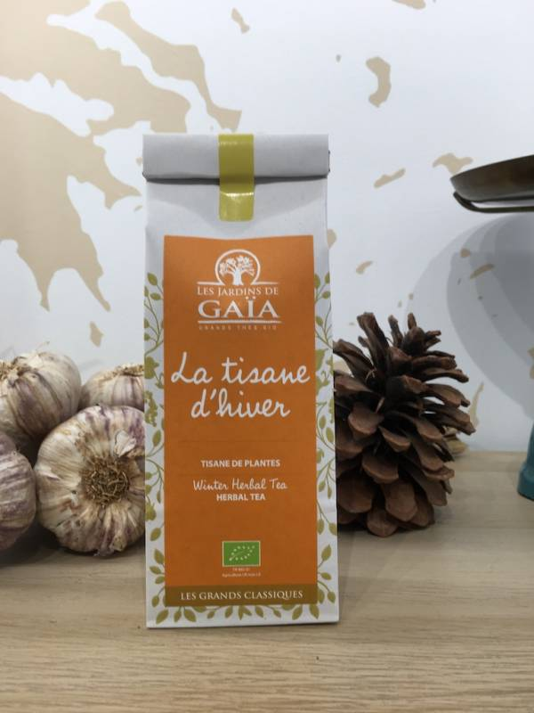 Tisane De Noël : D'hiver Bio 100 G GaÏa Sachet 1 Ef Zin Www.ef Zin.fr