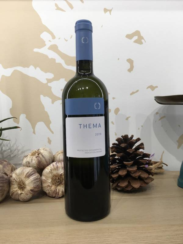 Vin Blanc 750 Ml Pavlidi Thema Bouteille 1 Ef Zin Www.ef Zin.fr Alimentation Spécialités Grecque